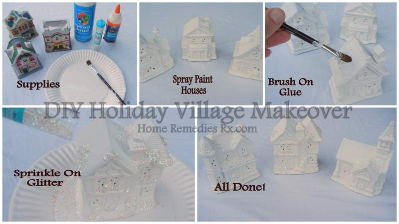 Holiday Village Makeover