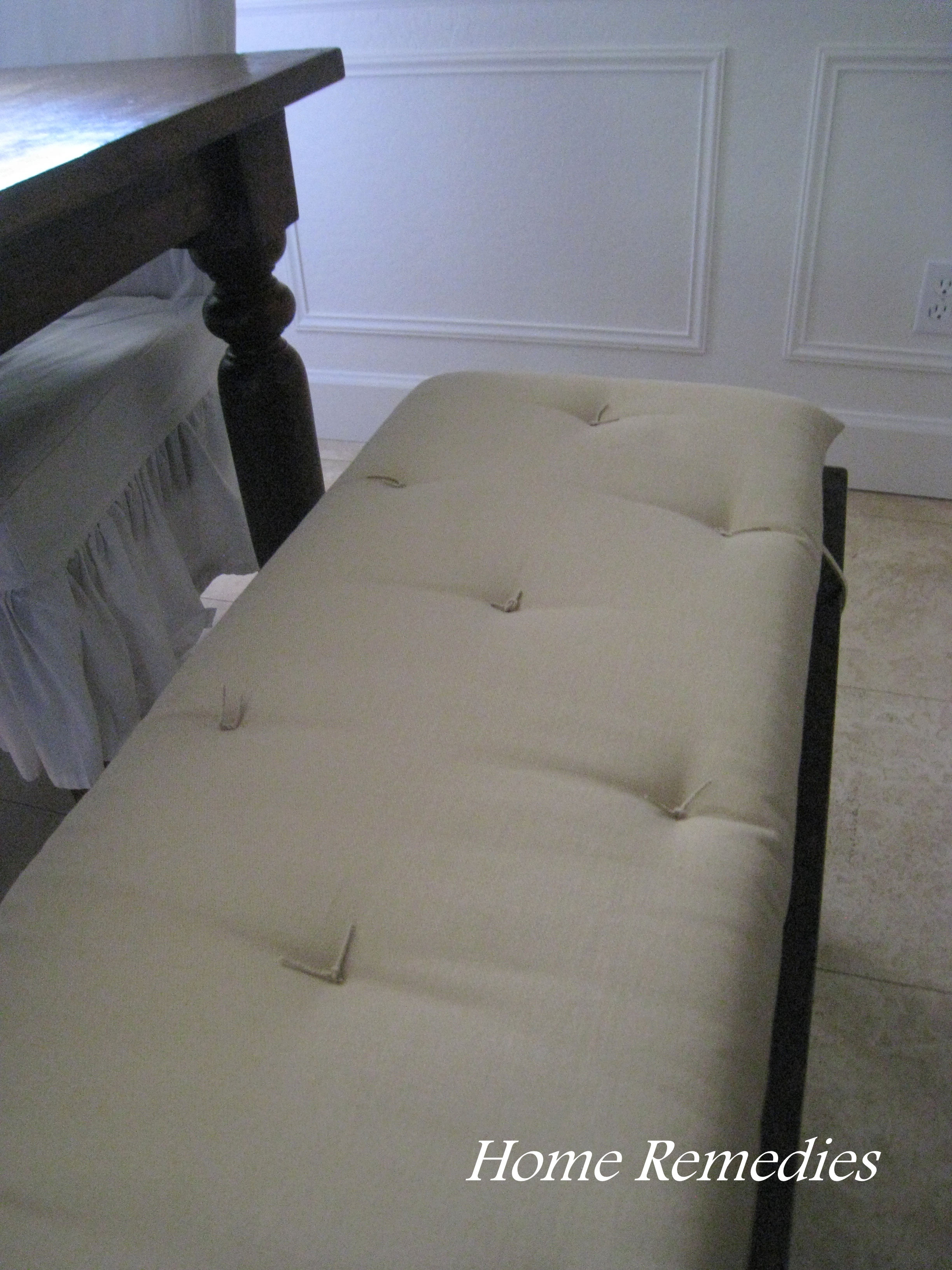 Comfy Custom Bench Cushion