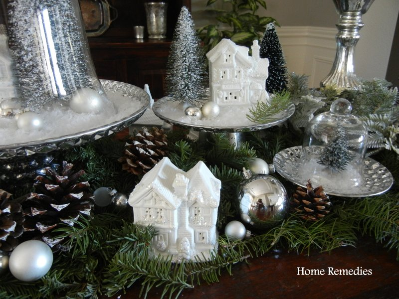 Holiday Village Table Runner from HomeRemediesRx.com