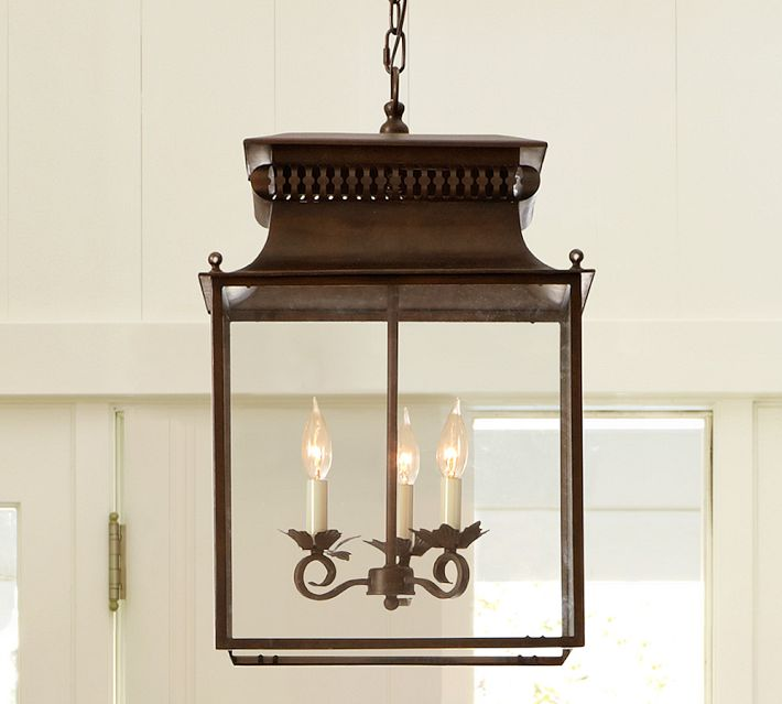 Pottery Barn Bolton Chandelier - Home Remedies dining room makeover