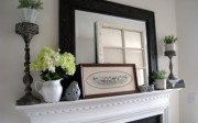 Pretty Spring Mantel
