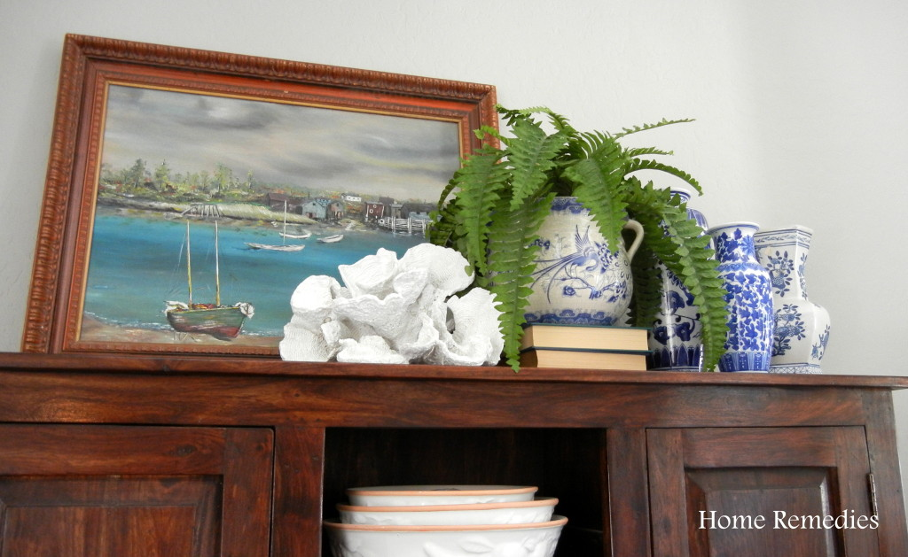Seaside Farmhouse Dining Room Makeover Reveal