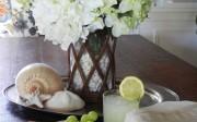 Seaside Farmhouse Dining Room Makeover Reveal
