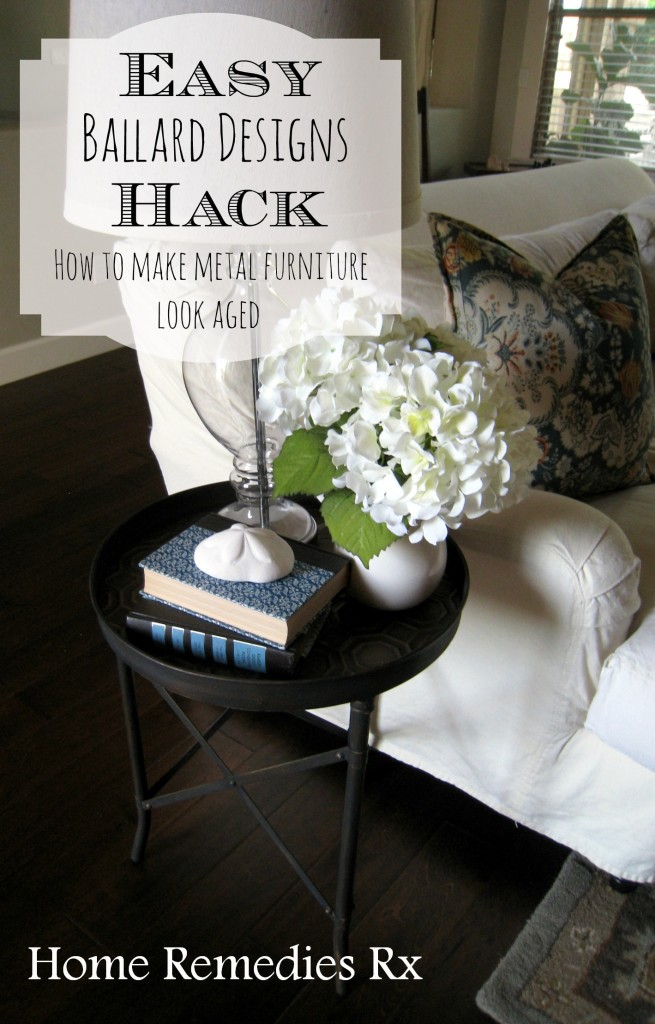 Ballard Designs Hack How To Age Metal