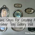 Nine Steps For Creating A Silver Tray Gallery Wall