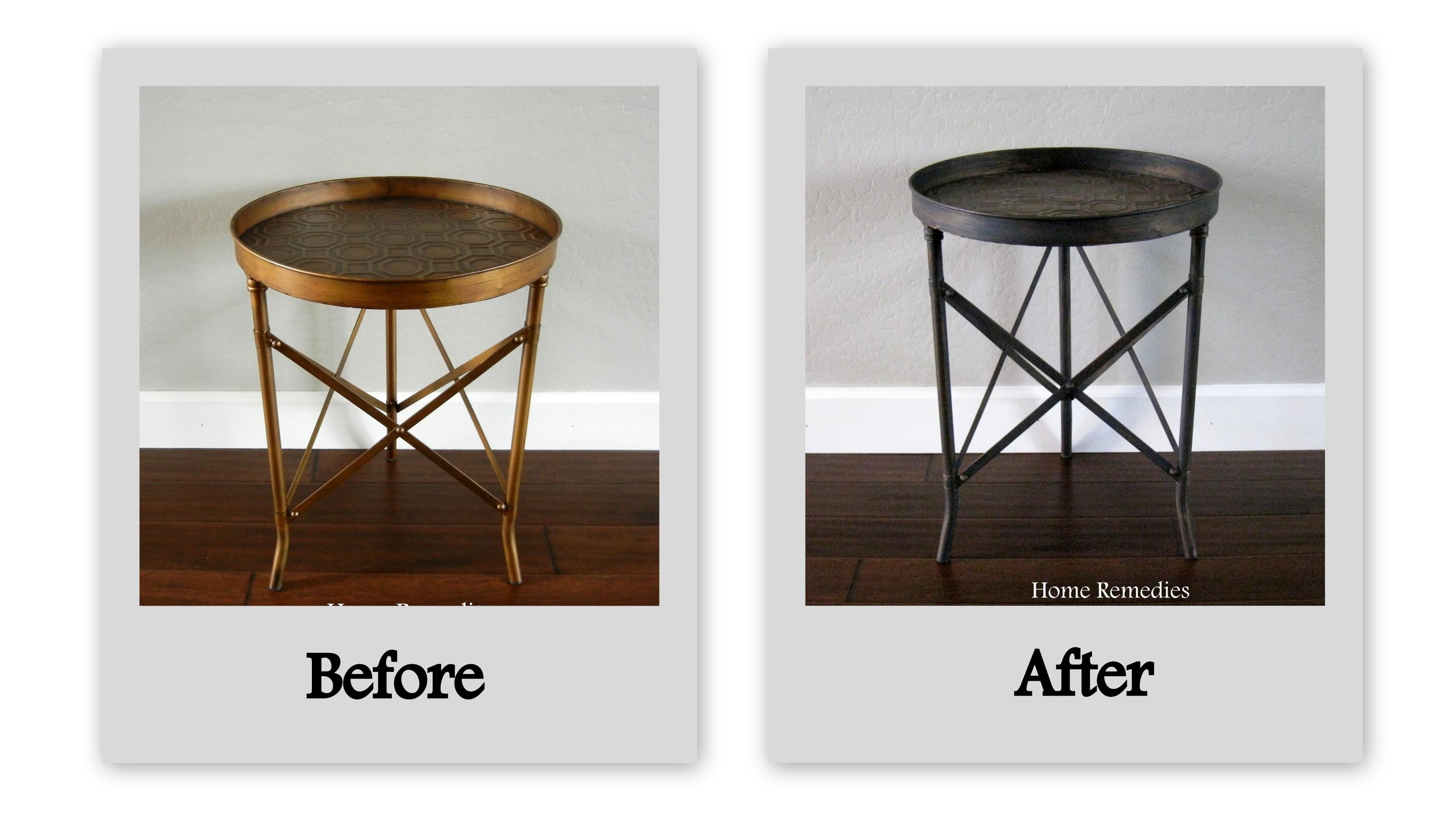 easy ballard designs hack how to age metal industrial end table