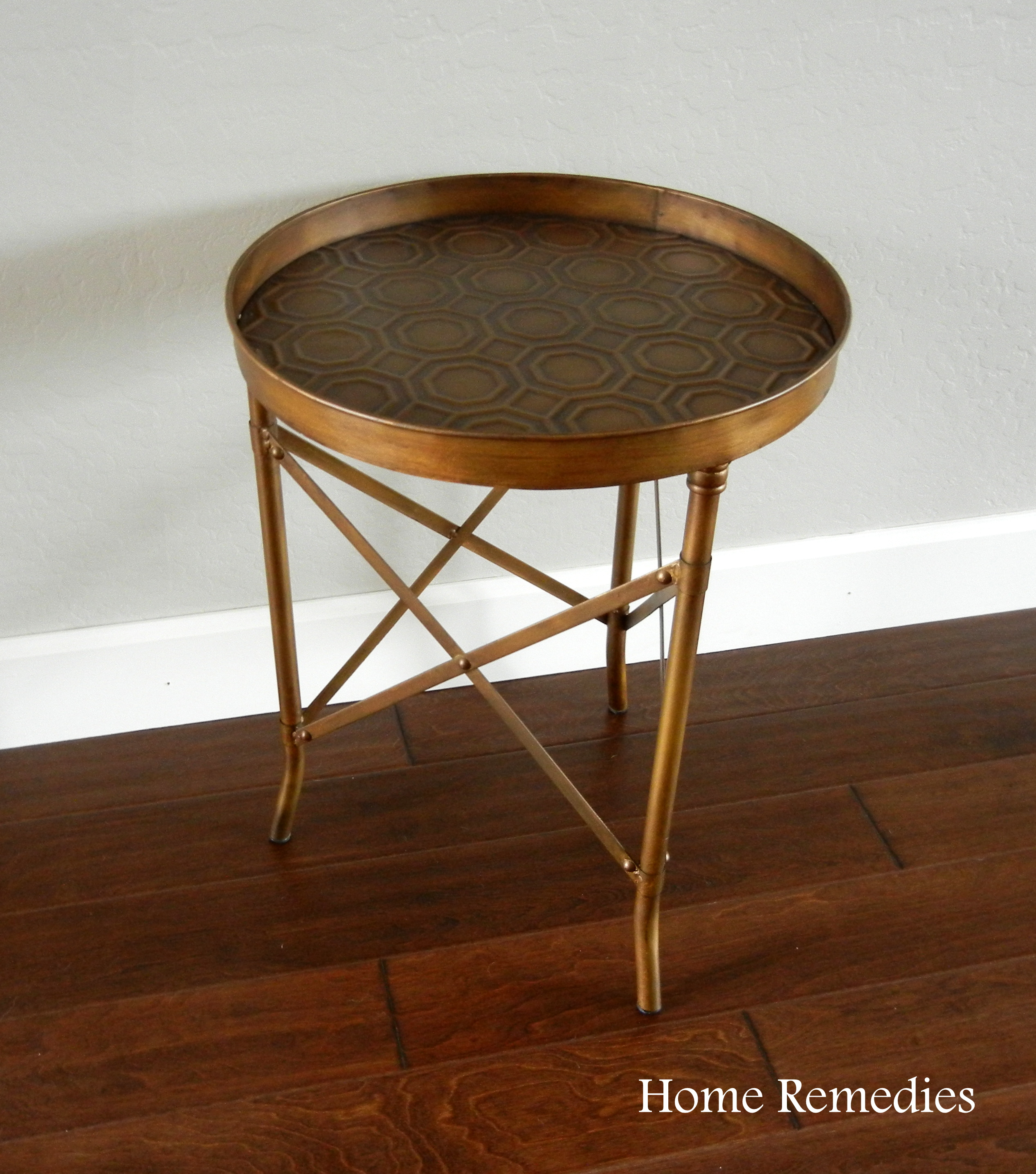 easy ballard designs hack how to age metal industrial end table