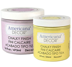 Annie Sloan Chalk Paint Vs Americana Decor Chalky Paint