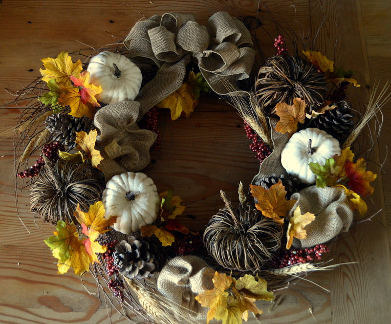 DIY Fall Wreath Tutorial