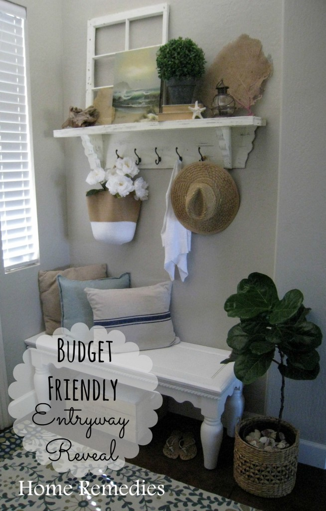 A Budget Friendly Entryway Reveal