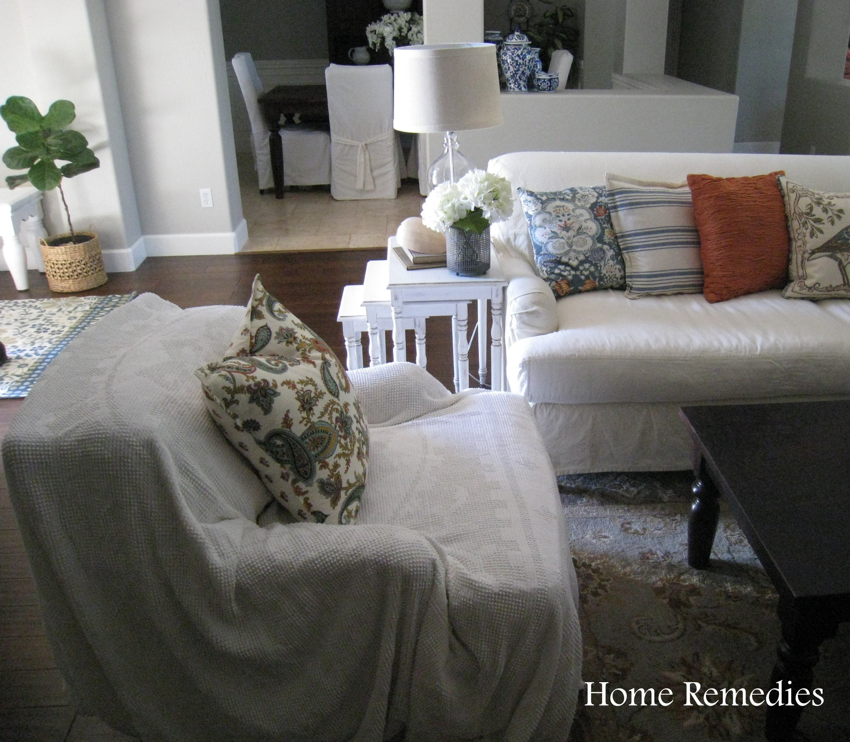 Thrifty Family Room Reveal