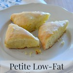 Petite Low-Fat Vanilla Scones Recipe