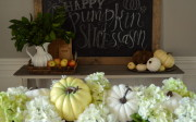 How To Make A Rustic, Framed Chalkboard