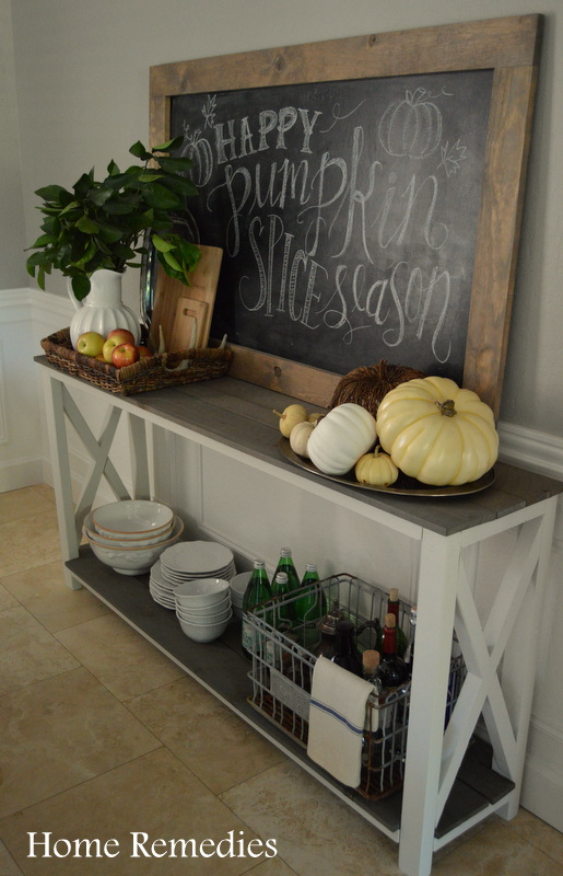 Rustic and Neutral Fall Dining Room Tour