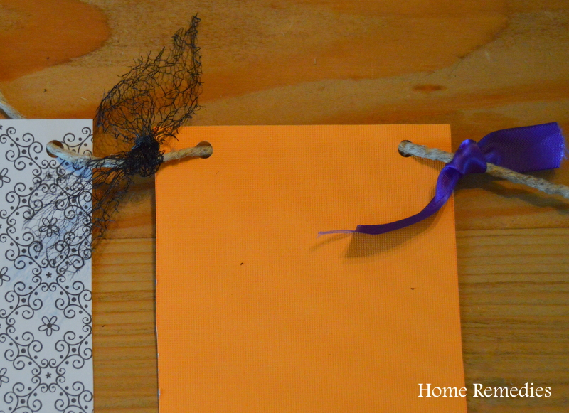 Quick and Easy DIY Halloween Banner | Home Remedies Rx.com