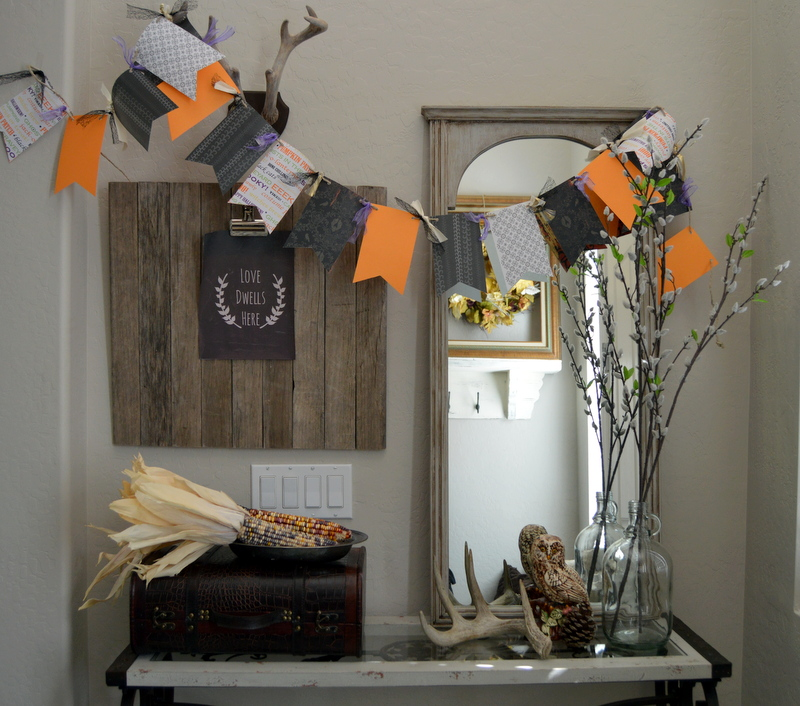 Halloween Banner from Home Remedies RX  | Halloween Favorites at www.andersonandgrant.com