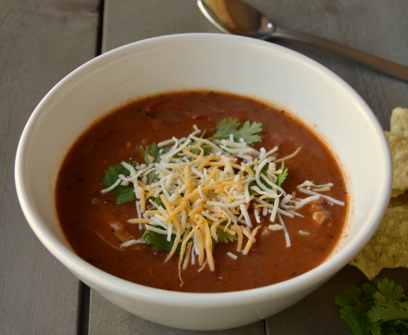 Skinny Chicken Tortilla Soup Recipe