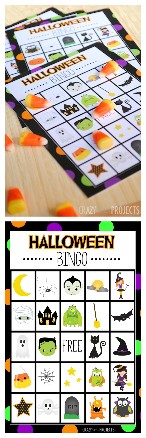 photograph regarding 25 Printable Halloween Bingo Cards named 25 Cost-free Halloween Printables Household Solutions