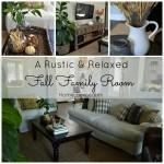 Fall Family Room Tour|Home Remedies Rx.com