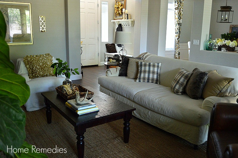 Fall Family Room Tour | Home Remedies