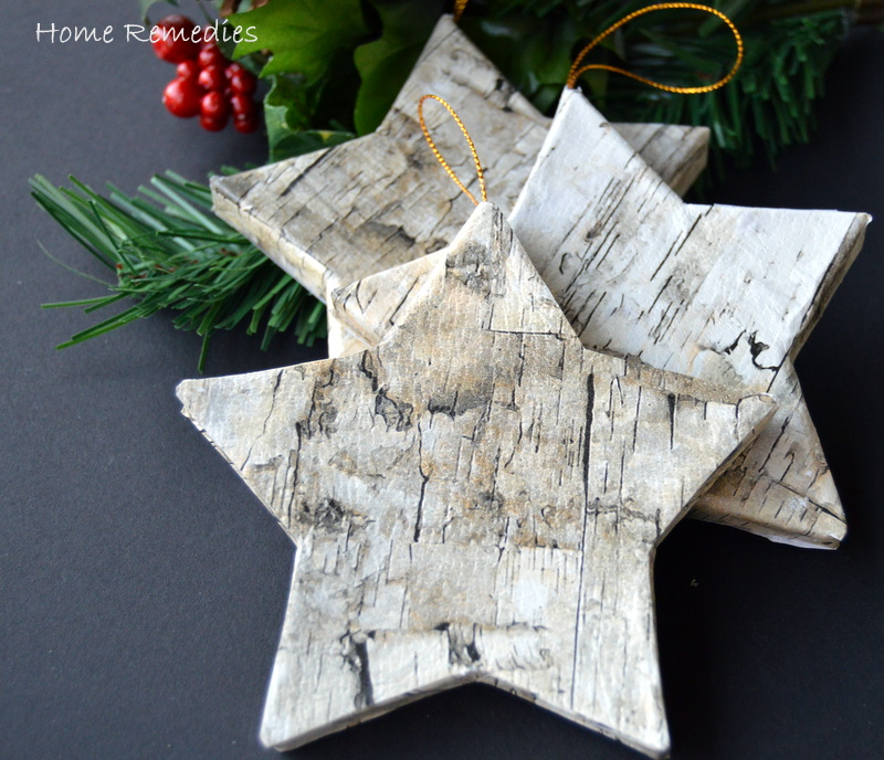 How To Make Birch Bark Ornaments | Home Remedies Rx.com