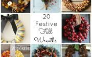 20 Festive Fall Wreaths