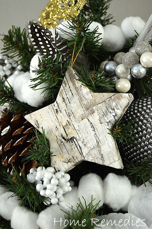 how to make a birch bark ornament the easy way home remedies rx - Birch Christmas Decorations