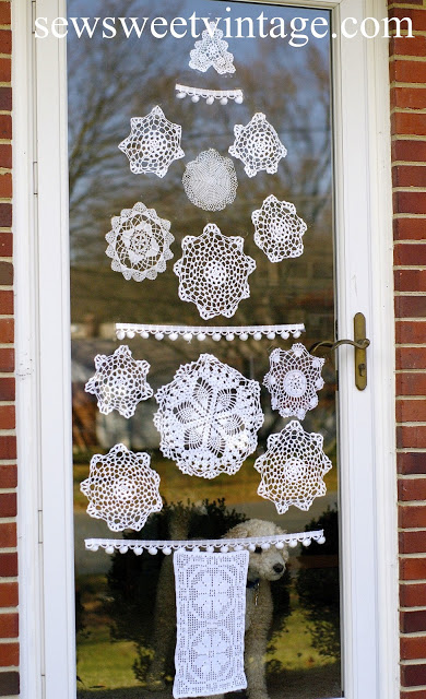 Doily Christmas Tree
