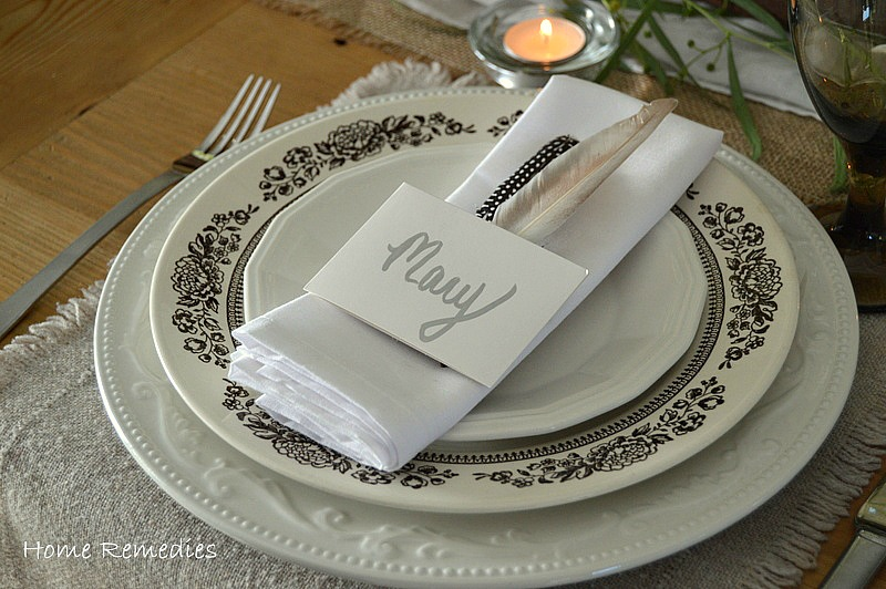 Thanksgiving Table Setting | Home Remedies