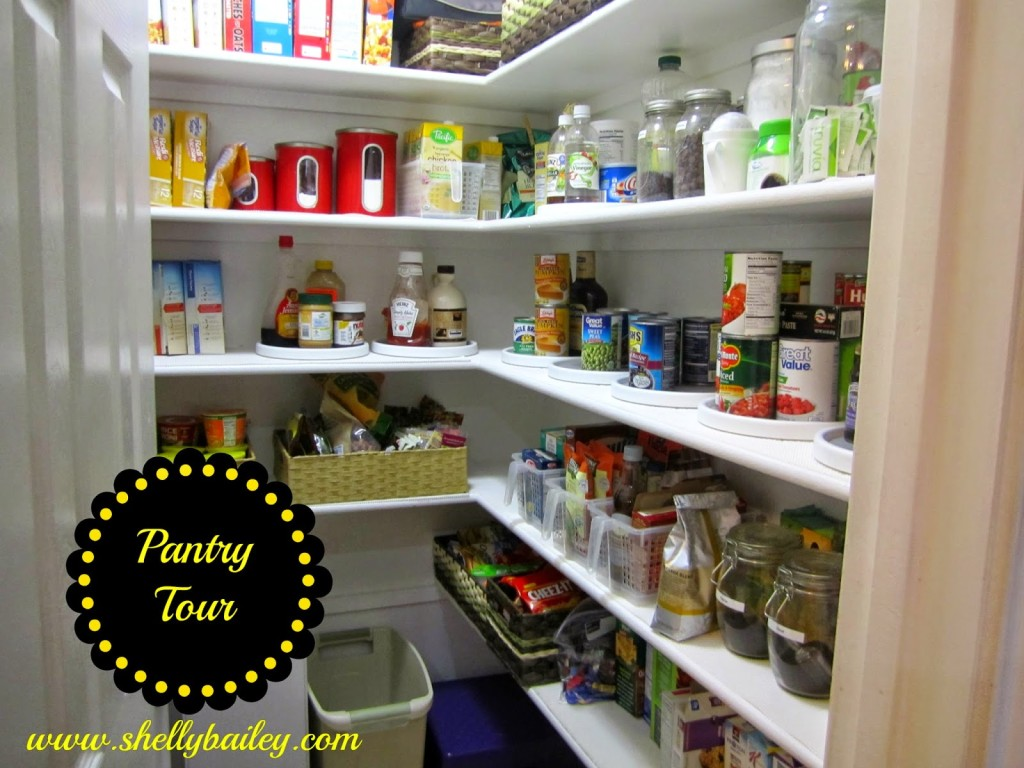 pantry tour and video