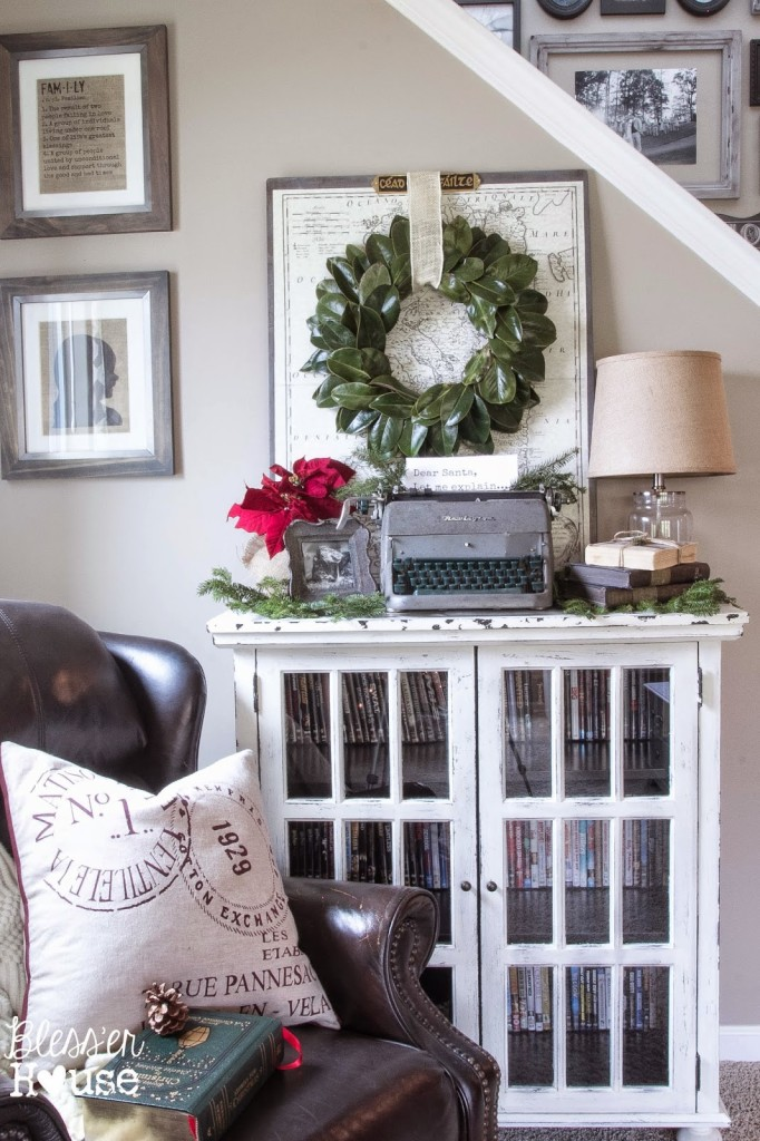 French Industrial Christmas Vignette | Bless'er House