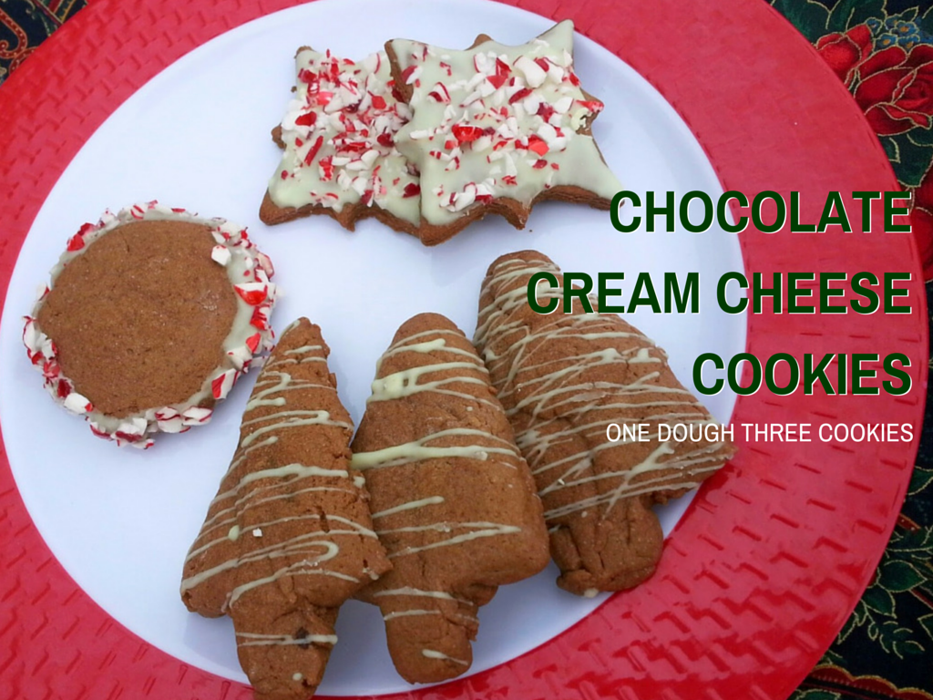 Chocolate Cream Cheese Cookies from That Recipe