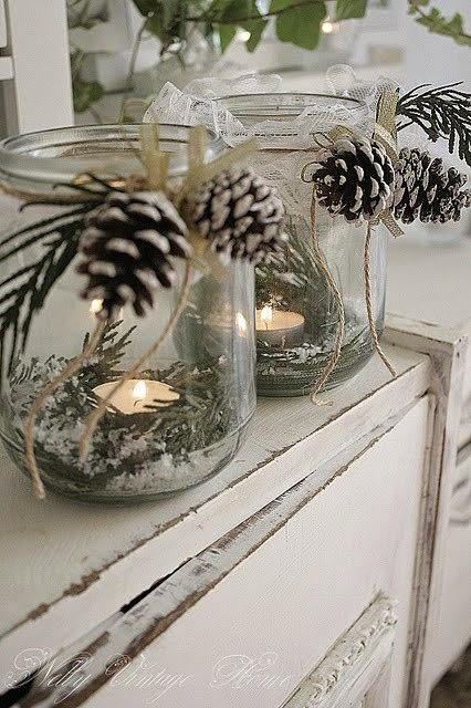 Christmas Decorating from Dragonflies and Thistles