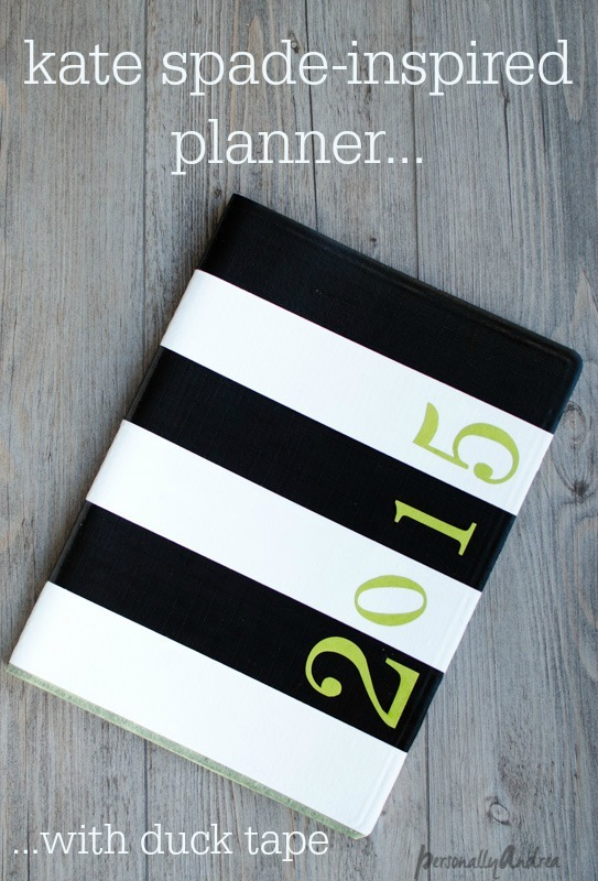 Kate Spade Inspired Planner | Personally Andrea