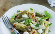 Penne With Sausage, Artichokes and Asparagus | All That's Jas