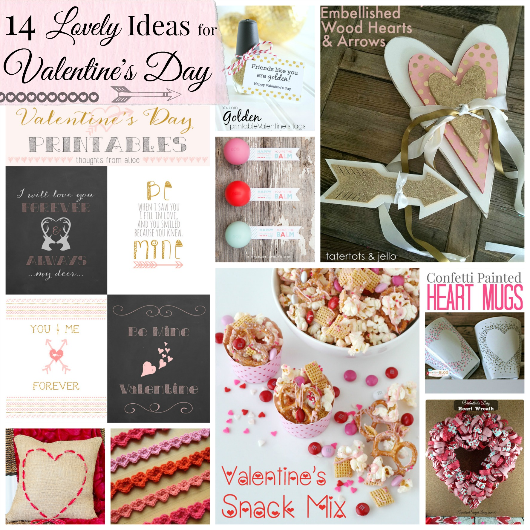 14 lovely ideas for valentine u0027s day
