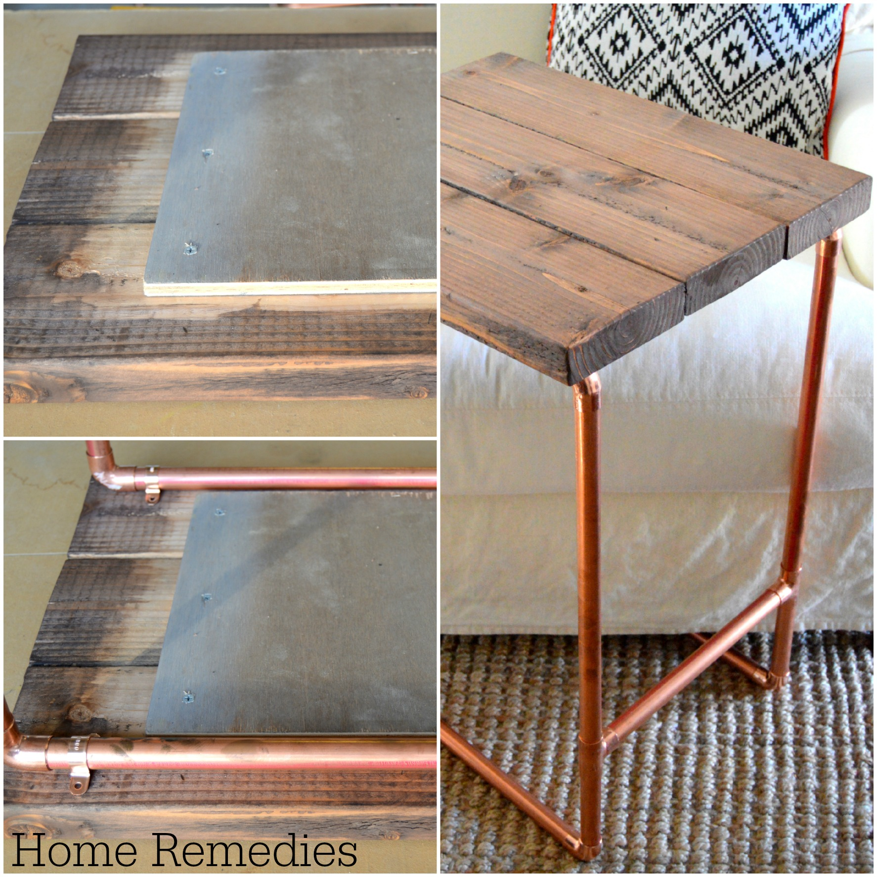 Metal Pipe Laptop Table Home Depot Gift Challenge