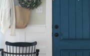 Painted Interior Door | The Wicker House