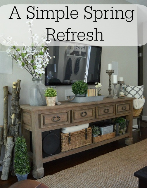 A Simple Spring Refresh | Home Remedies