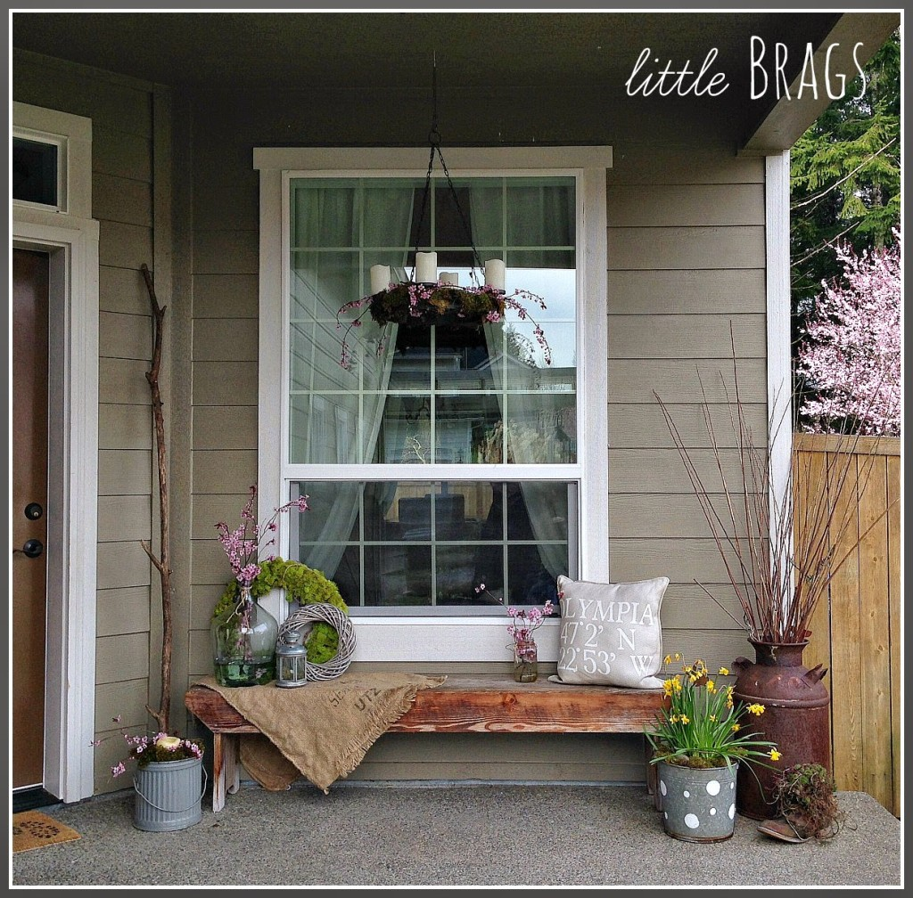 An Early Spring Porch | Little Brags