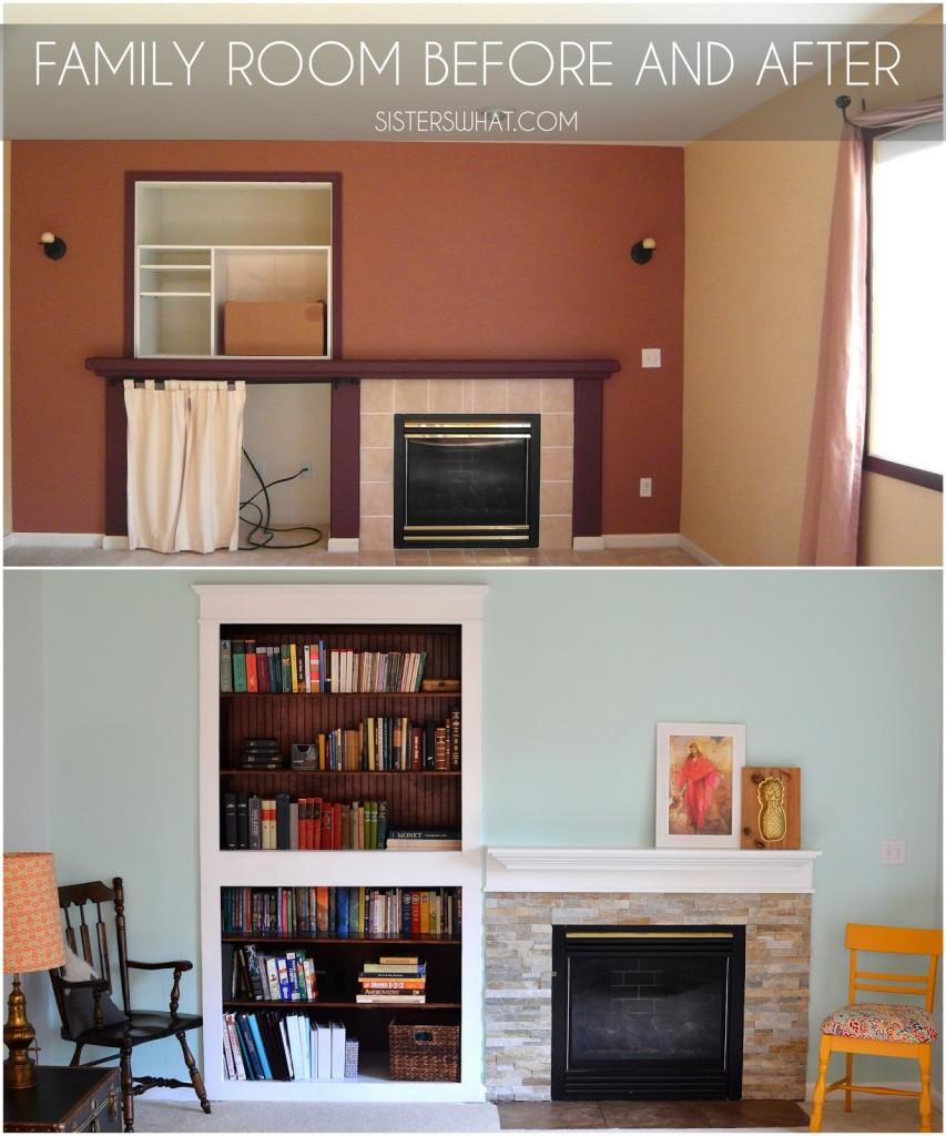 Family Room Update | Sisters What!