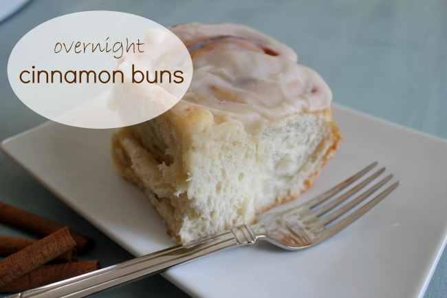 Overnight Cinnamon Buns | Joy In Our Home
