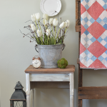 Refurbished Sewing Table from anderson + grant