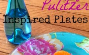 Lilly Pulitzer Inspired Plates | Casa Watkins