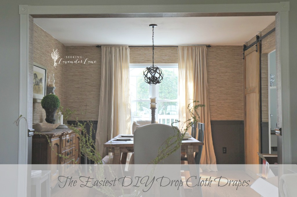 tt The-Easiest-DIY-Drop-Cloth-Drapes-1024x681