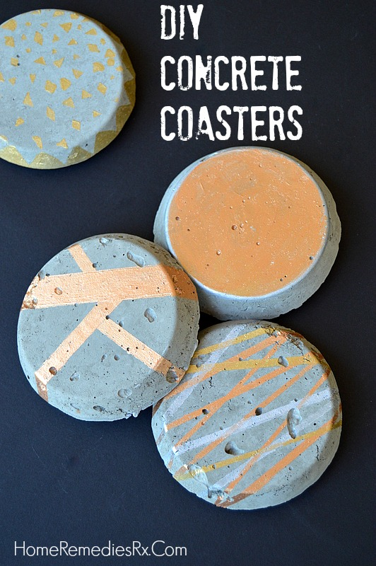 Home Depot Monthly Challenge - Concrete Coasters
