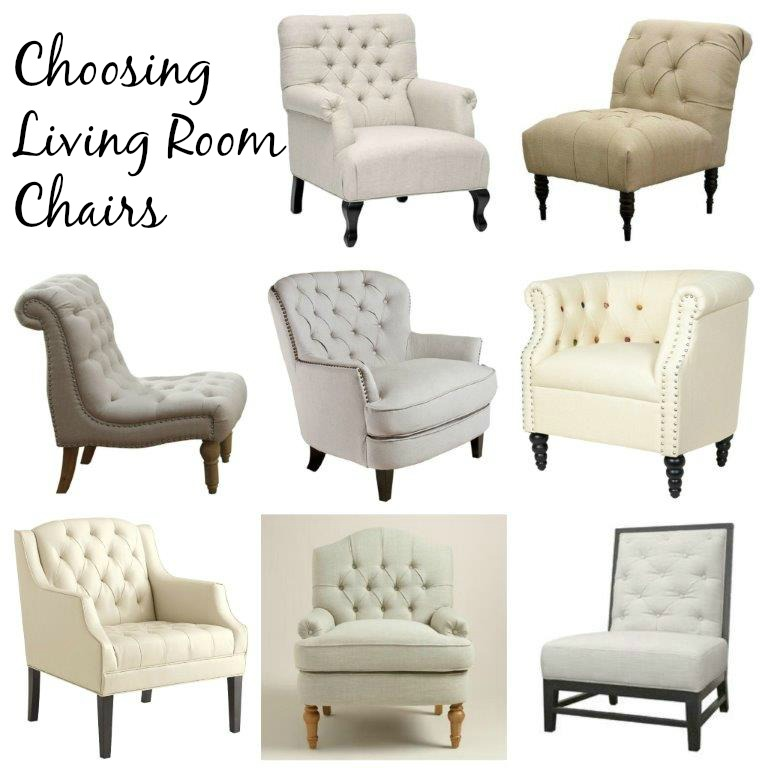 Choosing Living Room Chairs