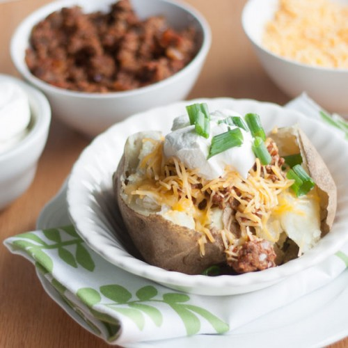 Baked Potato Bar | All She Cooks