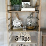 5 Tips for Easy Bookshelf Styling | Home Remedies