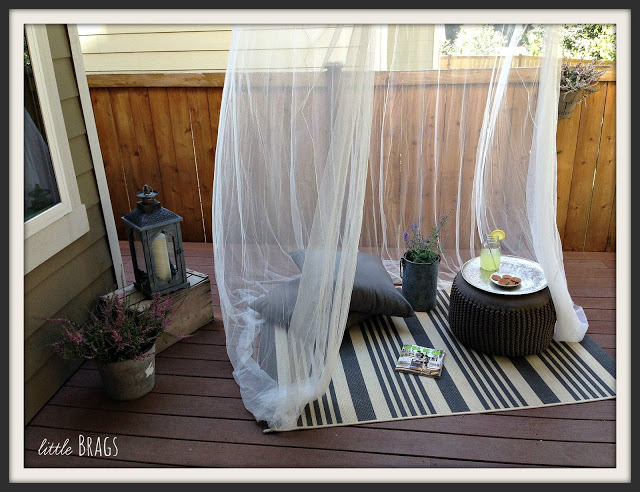 My Cozy Outdoor Spaces | Little Brags